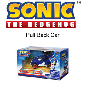 Sonic The Hedgehog 9CM Pull Back Action Car - New