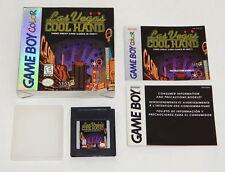 Las Vegas Cool Hand (Nintendo Game Boy Color, 1998) CIB R6761