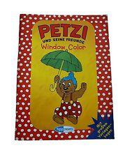 Petzi und seine Freunde, Window-Color Vorlagen, Tipp Creativ !!
