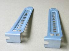 2 x Dell Precision PowerEdge PCI Blank Slot Cover Full height DD463 bracket