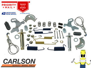 """Complete Rear Brake Drum Hardware Kit for Ford Mustang 1964-1969 w/ 10"""" Drums"""