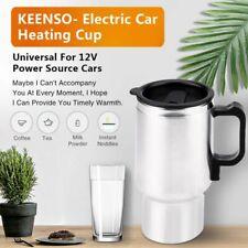 12V 450ml Wasserkocher Urlaub reise Kaffee Tee In-Car Kessel Edelstahl NEU
