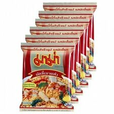 MAMA INSTANT NOODLES PAD KEE MAO 60 G. PACK 6 International Foods Food Beverages