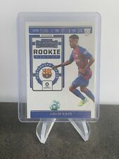Ansu Fati, Barcelona FC 2019/20 Chronicles Rookie Ticket