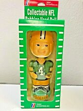 Vintage Rare Boy Face NFL TWIN ENTERPRISES  BOBBLE HEAD Green Bay Packers #4 NEW