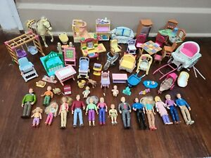 Fisher Price Loving Family Dollhouse Furniture People Pets And Accessories Lot