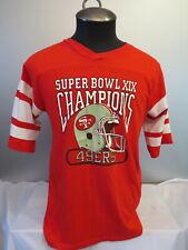 San Francisco 49ers Shirt (VTG) - Superbowl 19 Champions - Men's Large