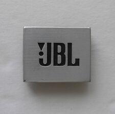 one JBL speaker grille emblem for Flix10 Center, Surround, & other 1990's models