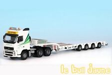 VOLVO FH12 porte engin NOOTEBOOM Transports COURCELLE France exclusivité 1/50°