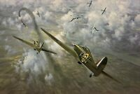 Defence of the Capital by Gerald Coulson with Battle of Britain Hurricane Aces