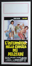 CINEMA-locandina L'INFERMIERA NELLA CORSIA DEI MILITARI l.banfi M.LAURENTI