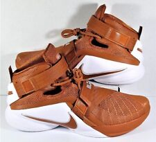 Nike Lebron Soldier 9 IX TB 16 Texas Longhorns KD Orange White Basketball S