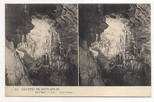 carte postale stéreo , grottes de bétharram , le chaos
