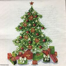 5  x   Paper party Napkins for Decoupage Christmas Tree Napkin Art