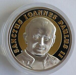 Niue 2 Dollars 2014 Johannes Paul II, 2 Oz Silber