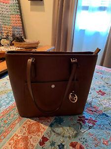 Michael Kors Handbag Brown Leather