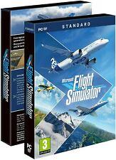 MICROSOFT FLIGHT SIMULATOR 2020 PC GIOCO SIMULATORE DI VOLO DVD ITALIANO NUOVO