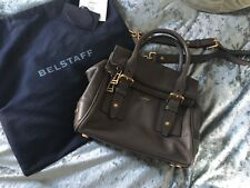 belstaff leather bag with cross body strap RRP£1,200