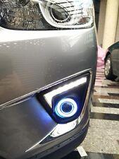 2x LED Daytime Fog Lights Projector angel eye kit For Mazda CX-5 2012-2015