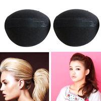 2Pcs Women Bump Up Lift Volume Hair Base Styling Insert Piece Sponge Pad Tool