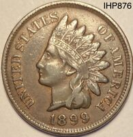 1899 Indian Head Penny Cent