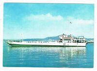 motonave traghetto ischia ferry pozzuoli porto ischia anni 60