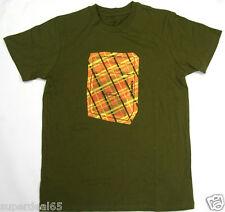 "Paul Frank T-Shirt  Olive   "" Music Amplifier Speaker ""  100% Cotton"