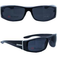 MJ Eyewear's Black Sport Wrap Around Men Sunglasses gift for him