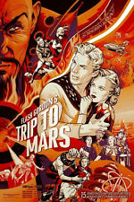 Flash Gordan Serial Poster MONDO - 2014 - Martin Ansin - Limited to 375 SOLD OUT