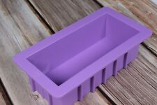 Silicone Rectangle Soap Mould Toast Loaf Cake Mould Purple Strong Silicone Mould