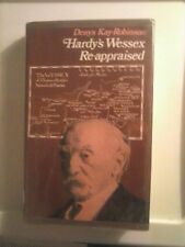 Hardy's Wessex Re-appraised by Denys Kay-Robinson 1971 Hardcover Good Condition