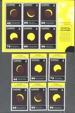 Alderney 2017 Coastal Eclipse min sheet & set-mnh