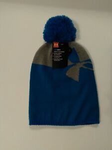 Under Armour Cold Gear Youth Beanie Hat Light Blue