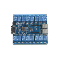 16 Channel P2P TCP/IP WiFi Relay Board Controller Wireless Remote RS232 RJ45