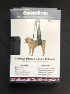 GingerLead Small Female Dog Support & Rehabilitation Harness NEW