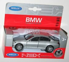Welly - BMW 535i (Silver) Model Scale 1:34-1:39