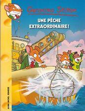 GERONIMO STILTON 61 Une pêche extraordinaire ! livre jeunesse