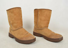Ugg Australia Ankle Boots Chestnut Womens W 6
