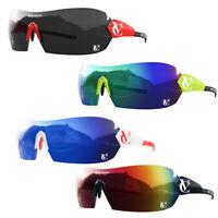 VeloChampion Cycling Sunglasses Customised Hypersonic Sports Revo UV400 Bundle