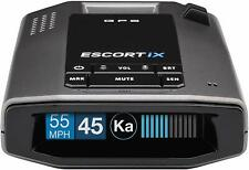 New Escort iX Long Range Radar Laser Detector Voice Alert Bluetooth smartphone