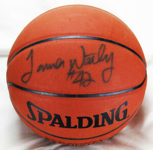 James Worthy Signed Autographed Basketball Los Angeles Lakers PSA/DNA