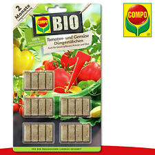 COMPO 20 Piece Organic Tomatoes- And Vegetables Fertilising Nutrients Growth