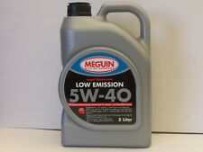 3,70€/l Meguin Megol Motorenöl Low Emission SAE 5W-40 5 L VW BMW MB Ford