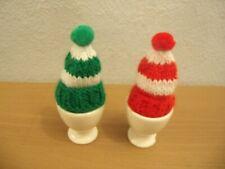 Knitting Pattern  Bobble Hat Egg Cosies