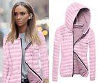 Women Hooded Puffer Coat Top Jacket Winter Warm Trench Windbreaker Parka Outwear