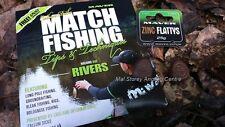 Maver Zinc Flattys 25g + FREE DVD Match Fishing Rivers