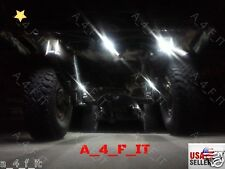 4 Universal LED WHITE Off Road Rock Crawling LED Lights