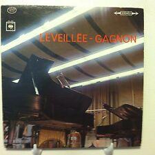 Claude LEVEILLEE-Andre GAGNON LP Canada Columbia FS-631 stereo VG+ léveillée