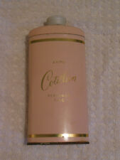 Vintage Avon Cotillion Perfumed Talc Pretty Pink Metal Container