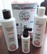 NIOXIN SYSTEM 3 KIT CLEANSER SHAMPOO CONDITIONER SCALP HAIR TREATMENT Hair Loss